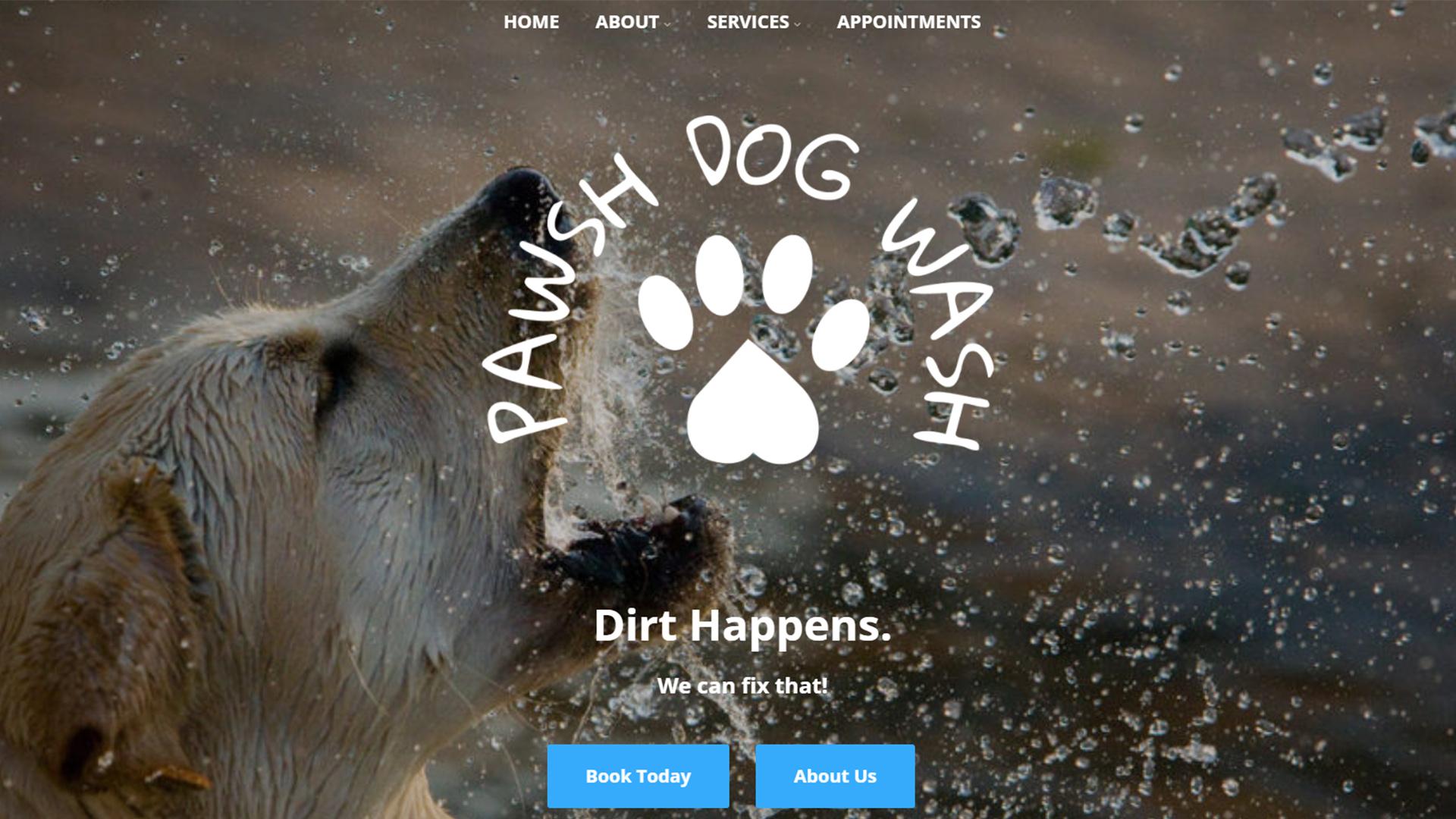 Pawsh Dog Wash